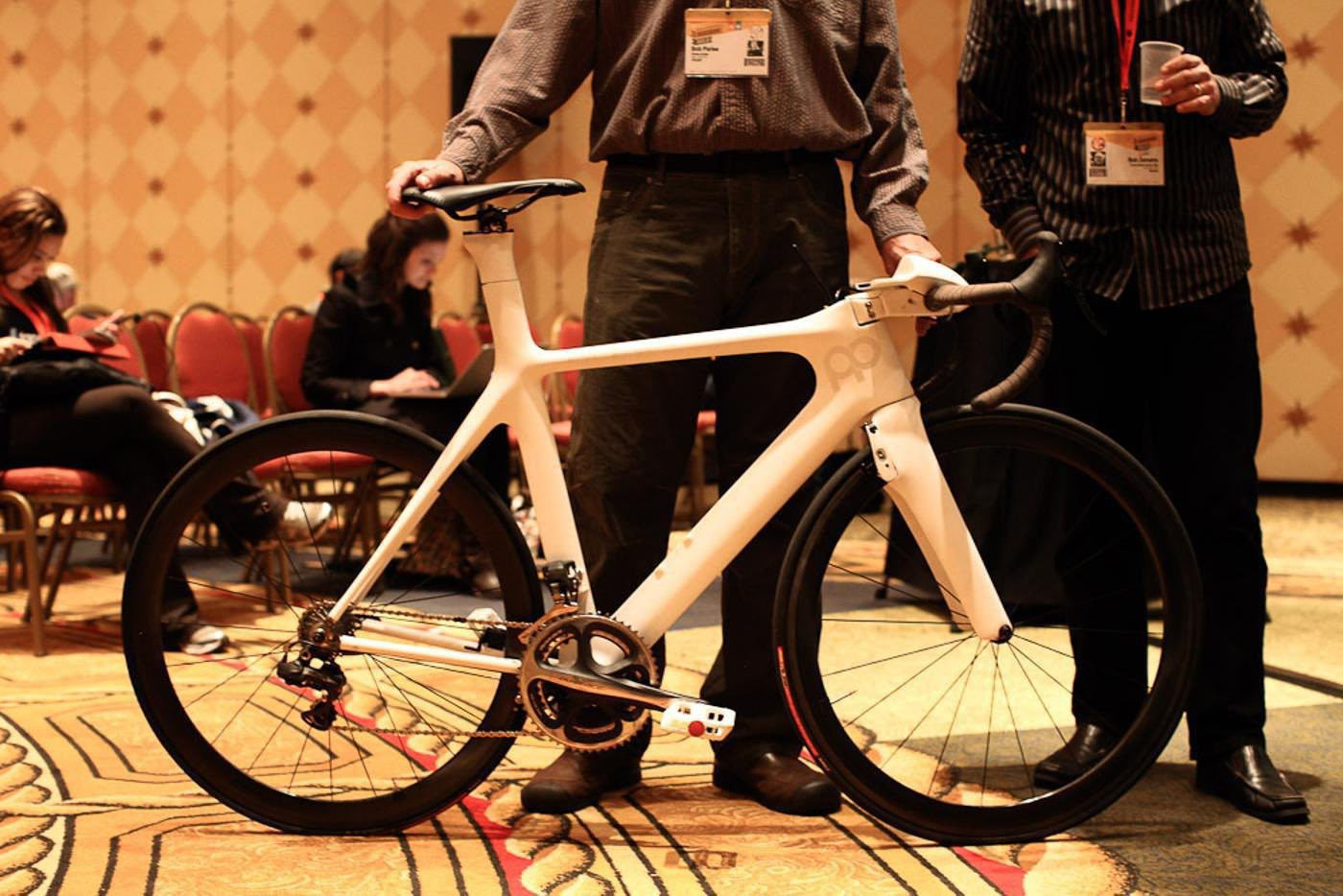 Parleee Cycles Toyota Prius Project bike shown at SXSW 201X via John Prolly / The Radivist